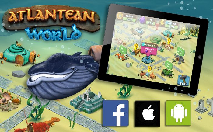 Atlantean World - Play Now