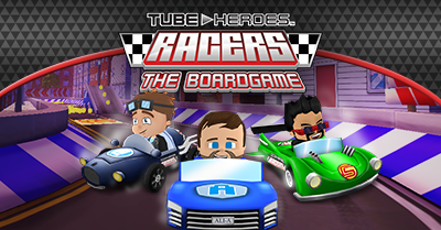 Tube Heroes Racers Boardgame